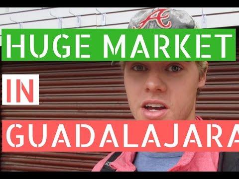Gringos in Guadalajara Vol 2: Mercado San Juan de Dios // Gringos in Guadalajara Vlog