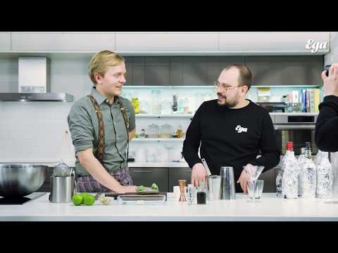 Как приготовить коктейль «Дзен-мартини». Кирилл Рунков в гостях у «Еды»
