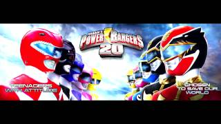 Mighty Morphin Power Rangers New Theme Instrumental