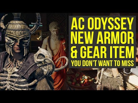 Assassin's Creed Odyssey Wild Boar Pack - NEW ITEMS & Weekly Reset! (AC Odyssey Wild Boar Pack) thumbnail