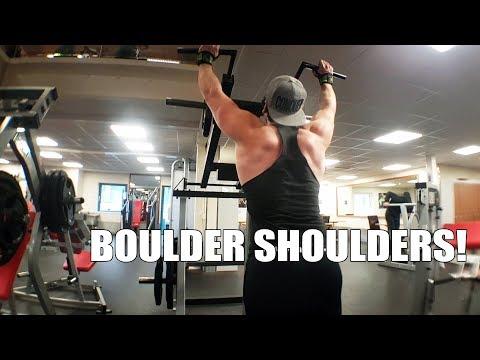 BIRTHDAY TRAINING!   Crayford   Shoulder workout
