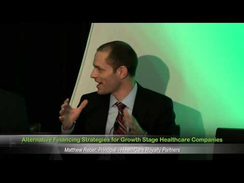 Alternative Financing Strategies for Growth Stage Healthcare Companies