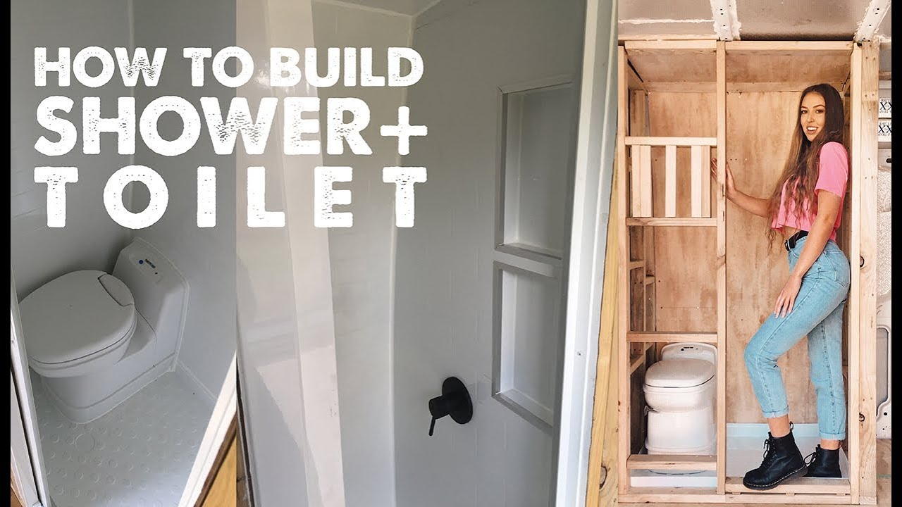 HOW TO BUILD A BATHROOM IN A VAN | Ep 3 Sprinter Van Conversion