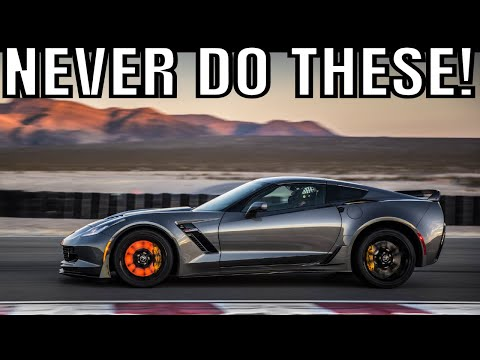 Things You Should NEVER Do To Your Chevrolet Corvette Z!