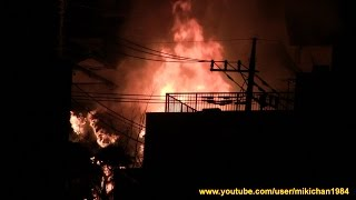 Fire accident 富士見市鶴瀬西の火事 その2