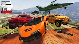 ARMAS vs VEHICULOS - GTA V ONLINE thumbnail