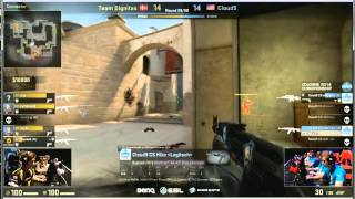 ESL One Cologne - Hiko's clutch (Cloud9 vs Dignitas)