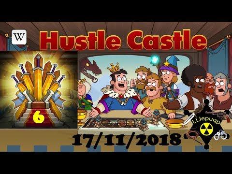 Hustle Castle. Тронный Зал 6 уровня. 17/11/2018