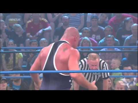 TNA Impact 10/25/12 Jeff Hardy vs Kurt Angle Title match