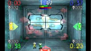 Blast Chamber PS1 Gameplay (crazy playstation game)