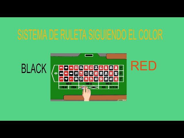 MÉTODO DE RULETA  Para Ganar/Negro y Rojo ✦Principiantes🤑 ✦2021 ✔️