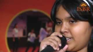 Anjana Padmanabhan, Indian Idol Junior Winner 2013 on ISBR Day 2014