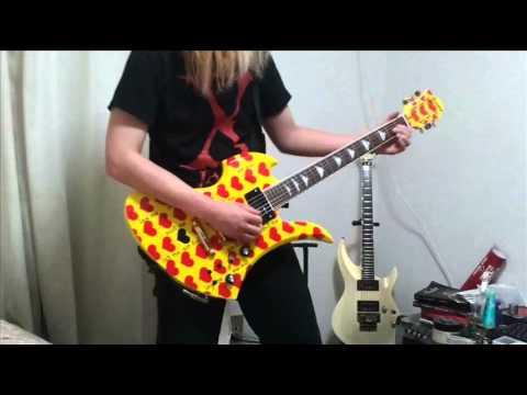 X JAPAN Silent Jealousy Guitar Cover (Retake)