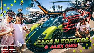 Download LOS SUPERCOCHES MÁS EXCLUSIVOS DEL MUNDO | Cars & Copters LA | ALEX CHOI Lamborghini Mp3 and Videos