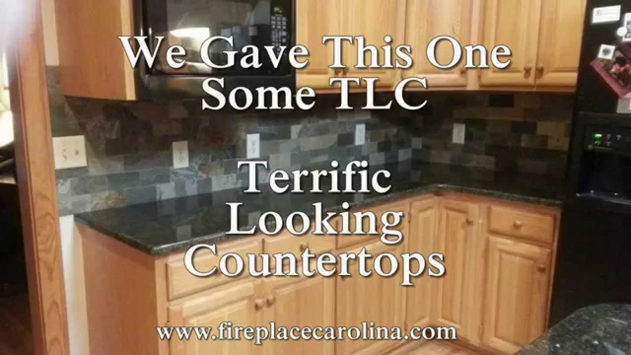 Granite Kitchen Countertops Installed Uba Tuba Concord NC 1 24 14   YouTube