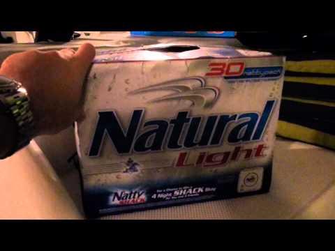 Mark Manuel - Natural Light: 77-Pack Of Beer! Yeah!!