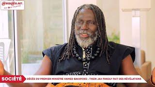 Décès Du Premier Ministre Hamed Bakayoko : Tiken Jah Fakoly Fait Des Révélations