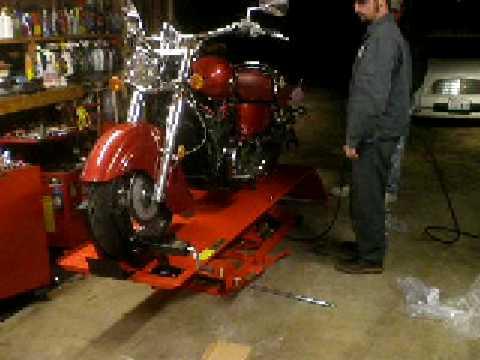 Harbor Freight Motorcycle Lift Wheel Chock Install Doovi