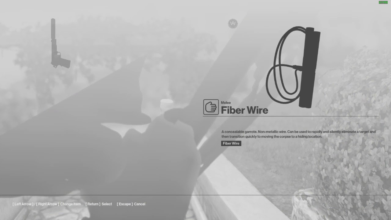 Fiber Wire? Have a Fist Instead   Hitman - YouTube