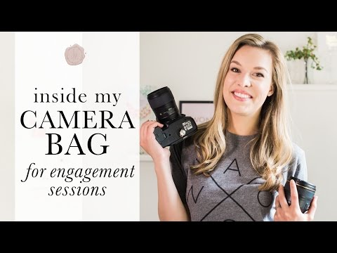 What's In My Camera Bag For Engagement Sessions