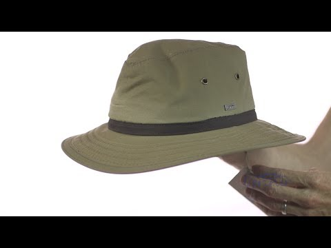 Portland Waxed Cotton Rain Hat Sku Y1284 Youtube