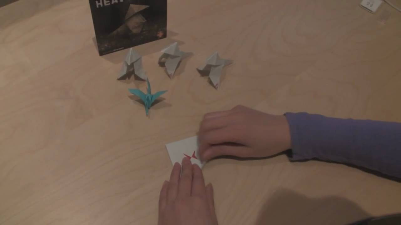 heavy rain the origami killer origami tutorial youtube