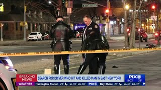 Pedestrian struck and killed by hit-and-run driver in Brooklyn: police