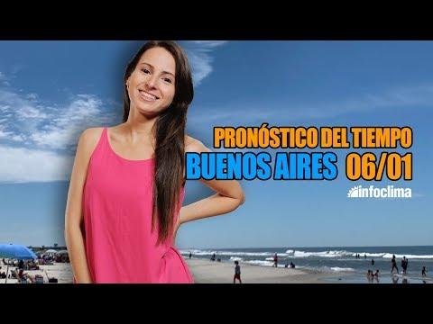 Pronóstico Para El 6 De Enero De 2020. Buenos Aires - Argentina - Infoclima TV