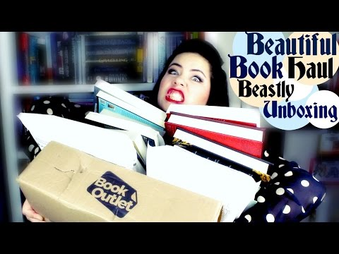 Beautiful Book Haul and A Beastly Unboxing