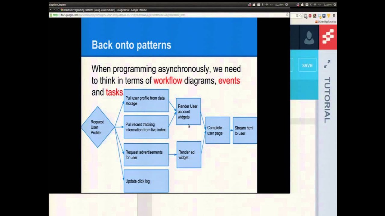 Reactive Programming Patterns with Java 8 Futures