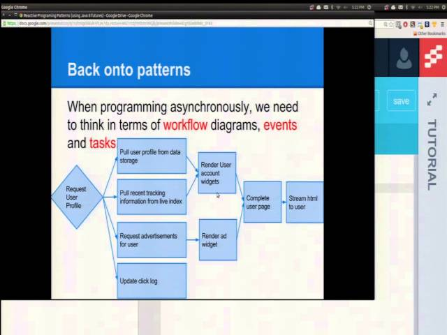 Reactive Programming Patterns with Java 8 Futures - YouTube