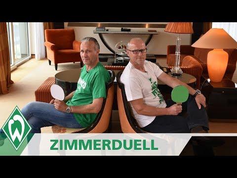 Zimmerduell: Thomas Schaaf & Thomas Wolter | SV Werder Bremen