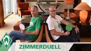 Zimmerduell: Thomas Schaaf & Thomas Wolter   SV Werder Bremen