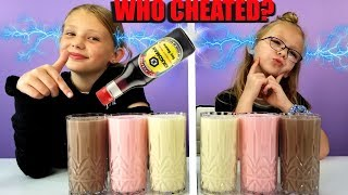 Who Cheated? Twin Telepathy Milkshake Challenge!!!