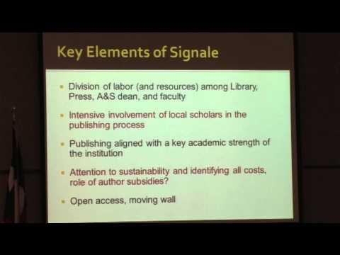 2013 UNT Open Access Symposium, Part 22