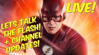LIVE! Flash/Arrowverse Chat & More! Channel Updates! tweet me @djairrick