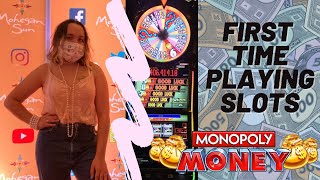 First Time Playing Slots | Monopoly Money Slot Machine | Mohegan Sun Casino Connecticut