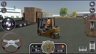 Construction Sim 2017 - New Forklift & Flatbed Truck Unlocked | Simulator Games - Android GamePlay