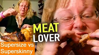MEAT Addict | Supersize Vs Superskinny | S04E04 | How To Lose Weight | Full Episodes