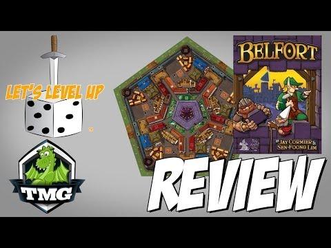 Let's Level Up Review: Belfort by Tasty Minstrel Games