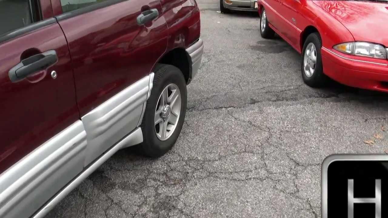 All Chevy 2001 chevy tracker mpg : 2002 Chevrolet Tracker 2.5 V6 LT 4x4 - YouTube