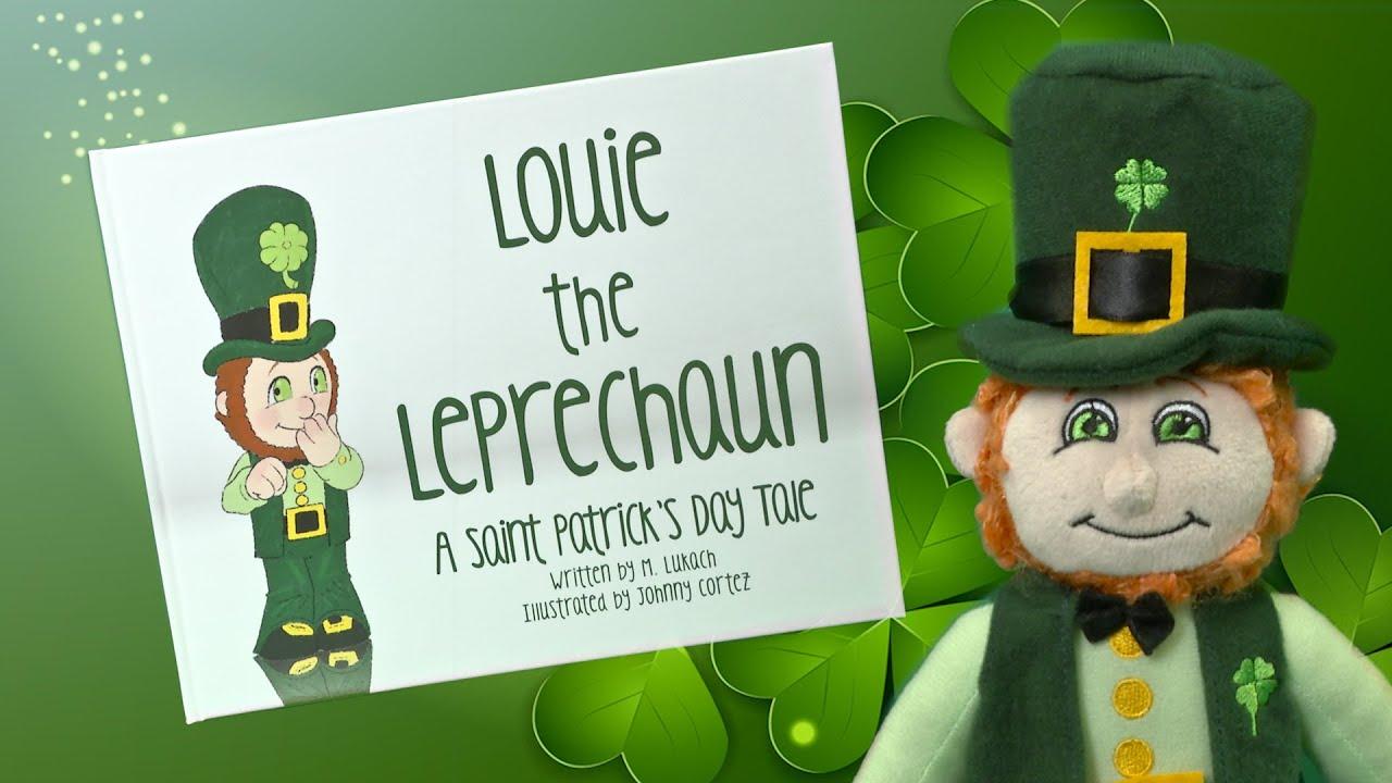 Uncategorized St Patrick Day Leprechaun Story louie the leprechaun a saint patricks day tale from signature book printing