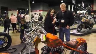 Behind the Handlebars - International Motorcycle Show - Builder Tom Miller Interview