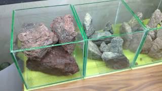 Тест камней для аквариума