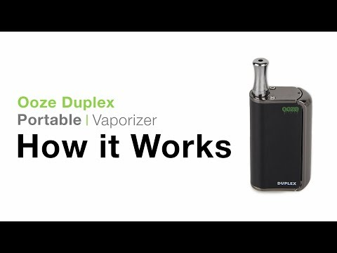 Ooze Duplex Dual Concentrate Vaporizer Tutorial - TVape