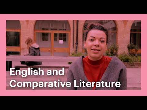 Meet the students of Goldsmiths - English and Comparative Literature