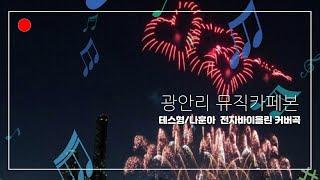 테스형/나훈아  #광안리 뮤직카페본 #전자바이올린 연주…