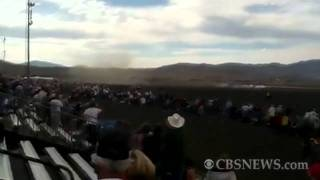 Deadly fighter plane crash at Nevada air show