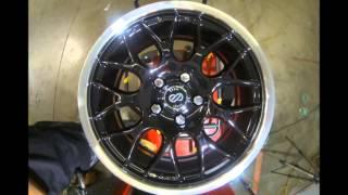 Enkei Wheels Lusso Black Machined