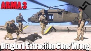 Druglord Extraction Gone Wrong - ARMA 3 Multiplayer/COOP Gameplay